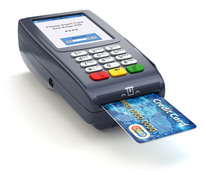 Credit and Debit Card Reader